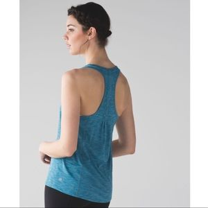LULULEMON | 'Hotwave Tank' in heathered teal